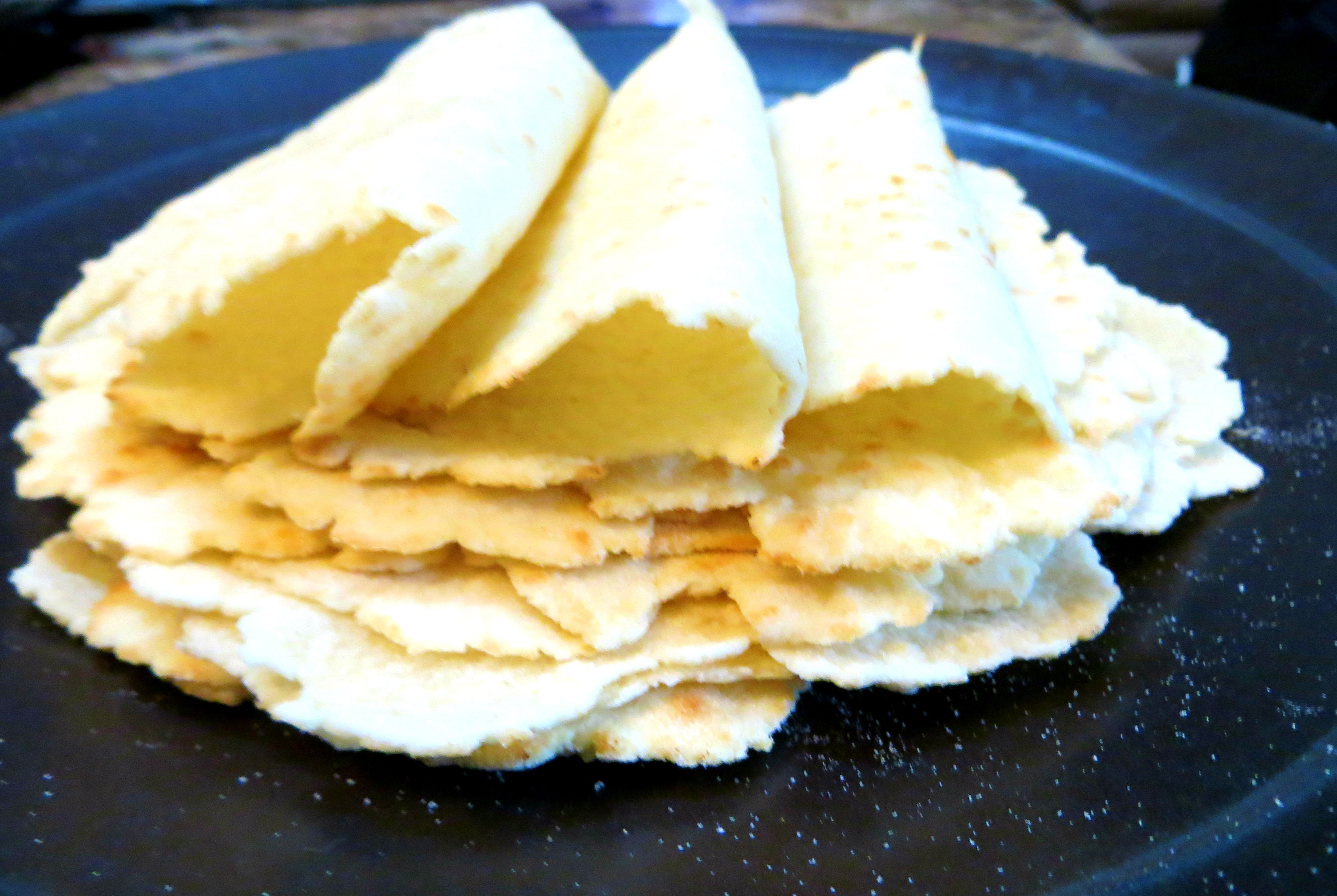 Gluten Free Homemade Tortillas