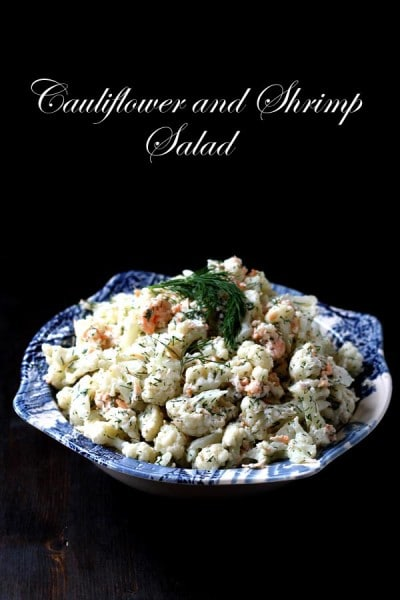Cauliflower and Shrimp Salad with Dill