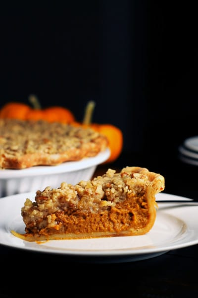 Perfect Pumpkin Spiced Pie with Streusel Topping – Dairy Free