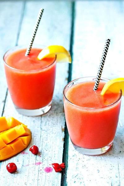 Mango & Cherry Rum Slush