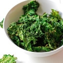 Garlic & Parmesan Kale Chips