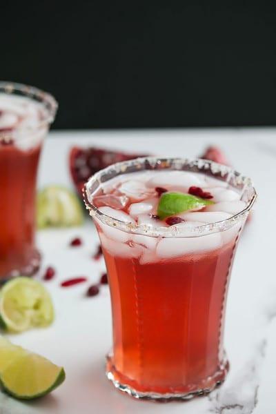 Pomegranate Kombucha Margarita Recipe