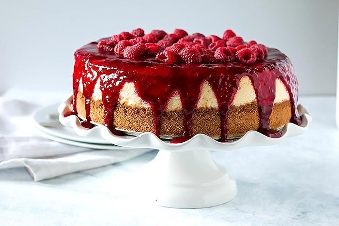 Boozy Raspberry Lemon Souffle Cheesecake (2)