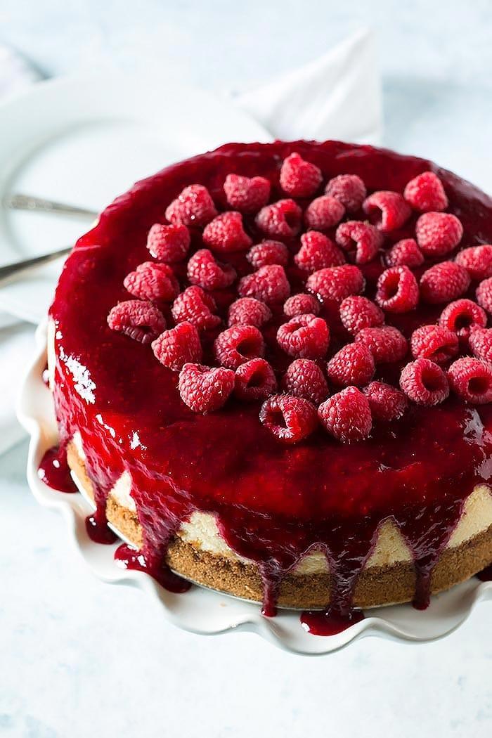 Boozy Raspberry Lemon Souffle Cheesecake (4)