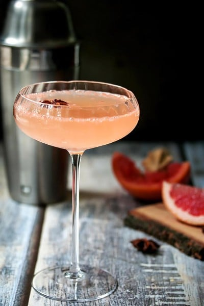 Silk Road – A Grapefruit Martini