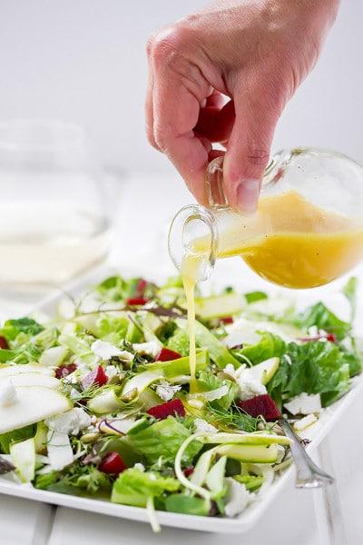 Summer Salad with Champagne Vinaigrette