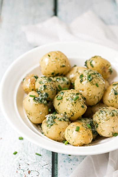 The Ultimate Potato Side Dish – Garlic Potatoes with Dill