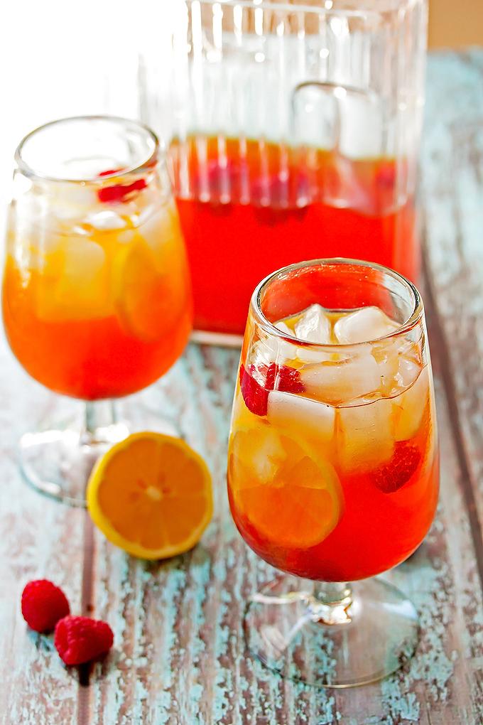 Hard Lemon & Raspberry Black Iced Tea
