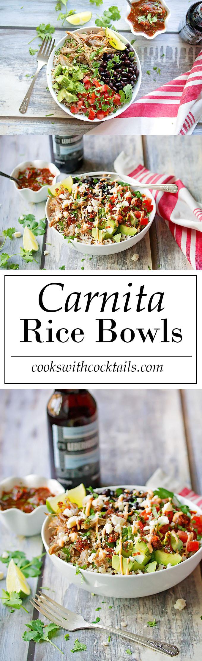 Carnita Rice Bowls