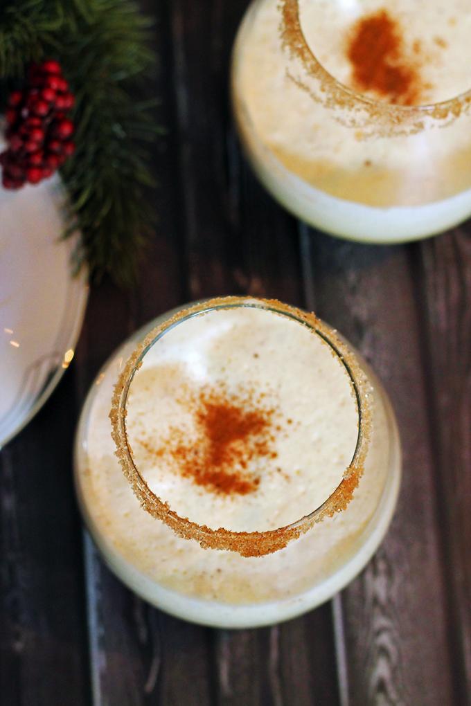 Rum and Eggnog
