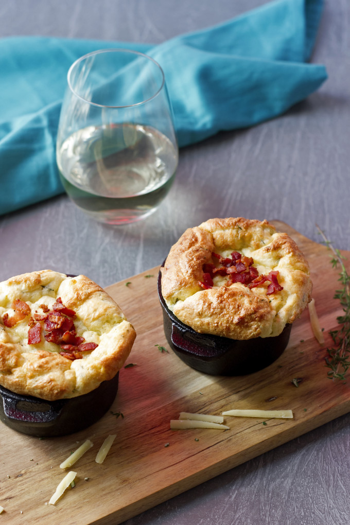Potato Souffle with Gruyere and Herbs (5)