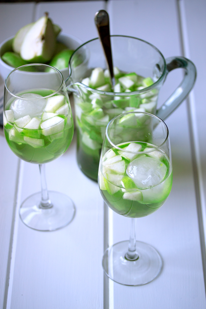 Apple and Pear Sangria