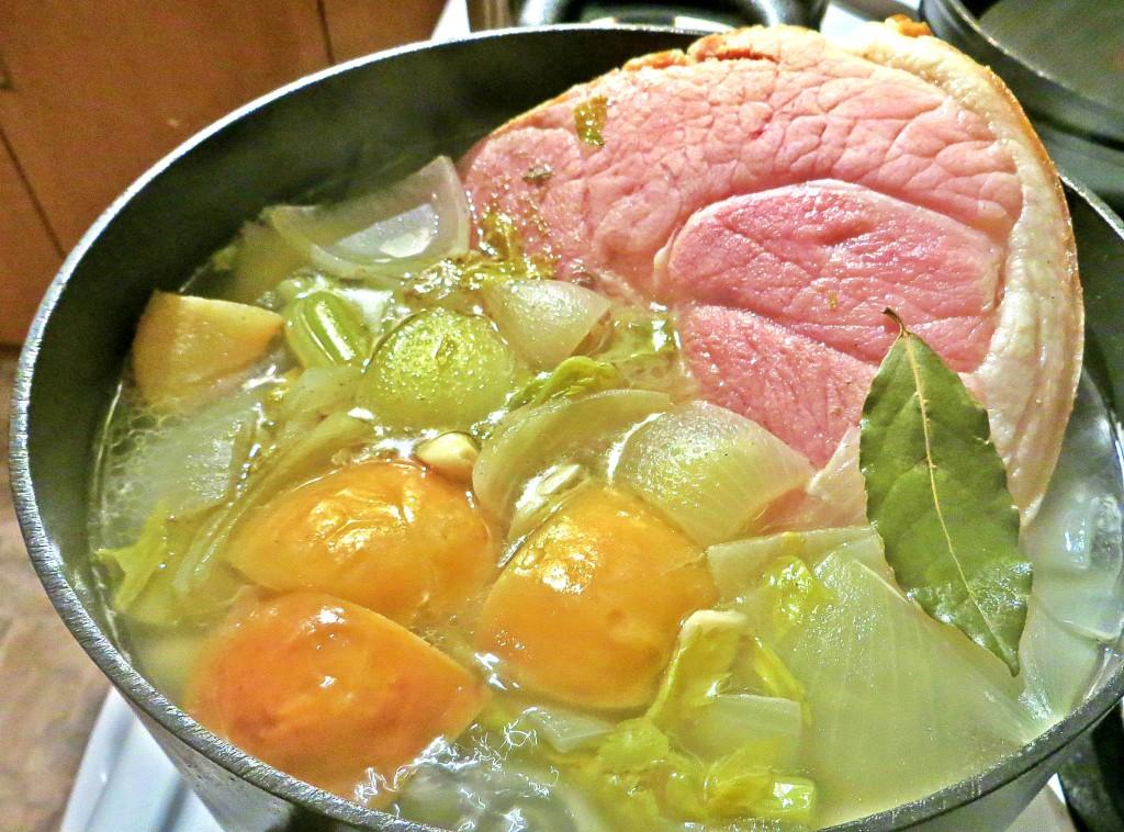 Fall Apart Beautiful Boiled Ham