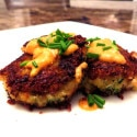 Ultimate Crab Cakes with Cajun Cream Sauce
