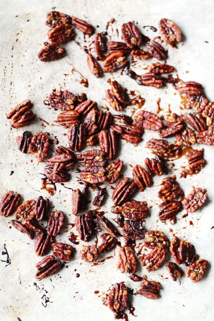 Maple Roasted Pecans