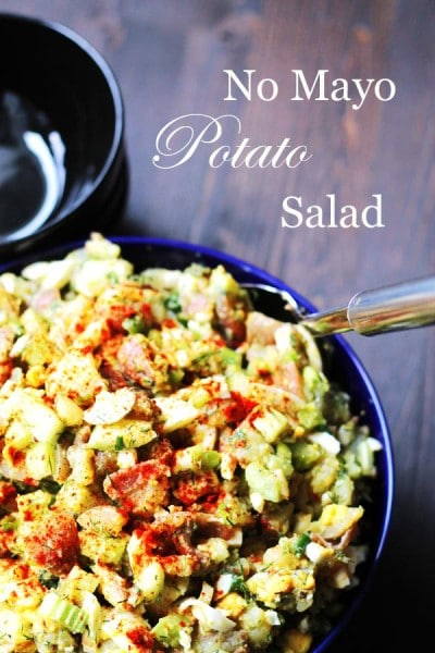 No Mayo Potato Salad