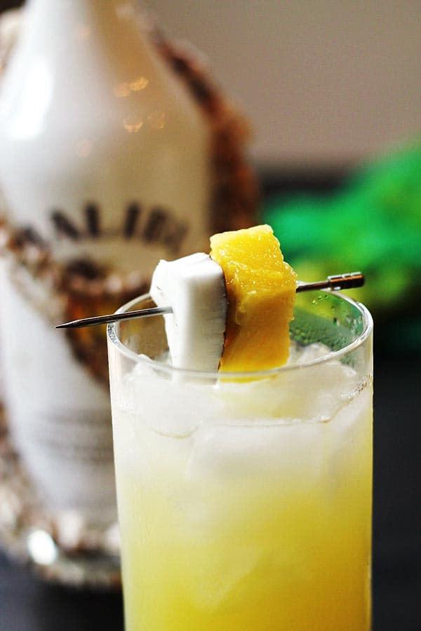 Coconut Pineapple Rum Drinks