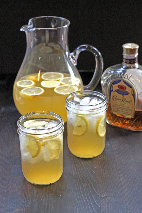 Whiskey Lemonade a.k.a Redneck Lemonade with Homemade Lemonade