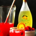 Raspberry Limoncello Lemonade