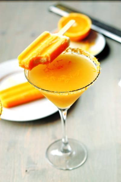Orange Creamcicle Martini