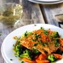Miso – Dijon Glazed Salmon
