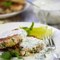 Turkey Burgers with Cilantro Lime Sauce