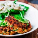 Salmon Cakes with Lemon Dill Aioli