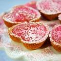 Raspberry and Lemon Curd Tarts