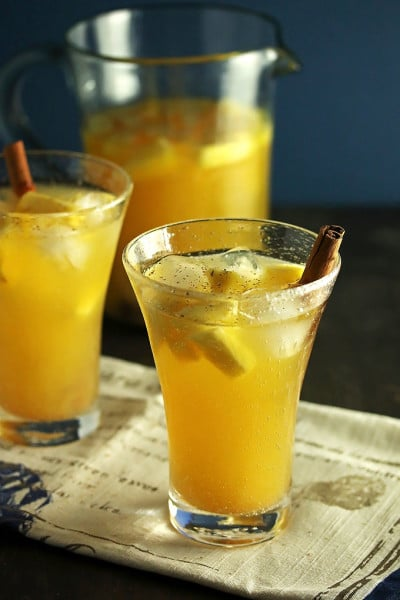 Pineapple Cinnamon Sangria