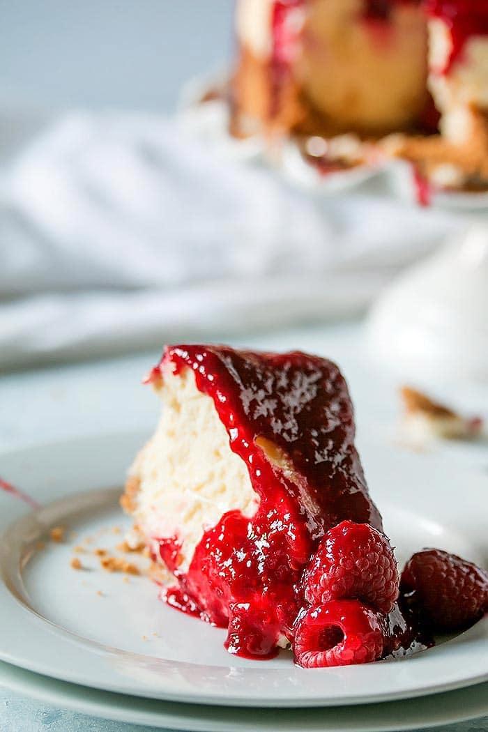 Boozy Raspberry Lemon Souffle Cheesecake (5)
