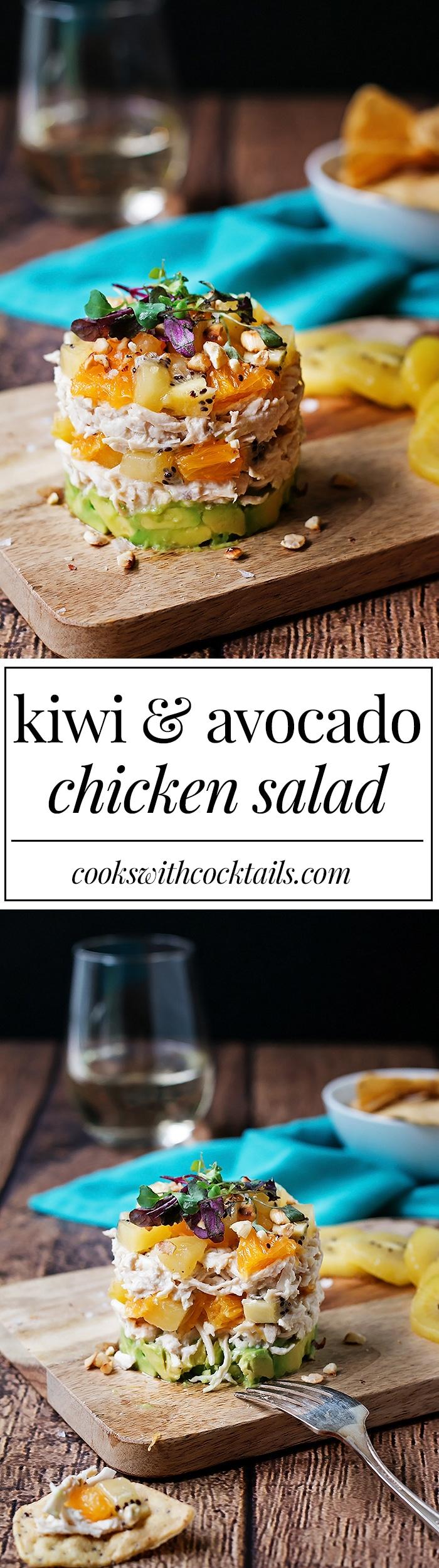 Kiwi and Avocado Chicken