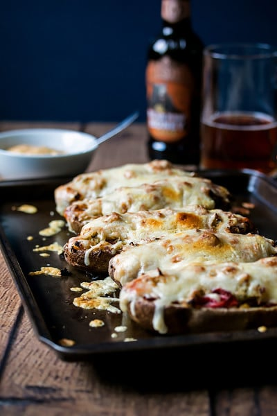 Reuben Stuffed Potato Skins