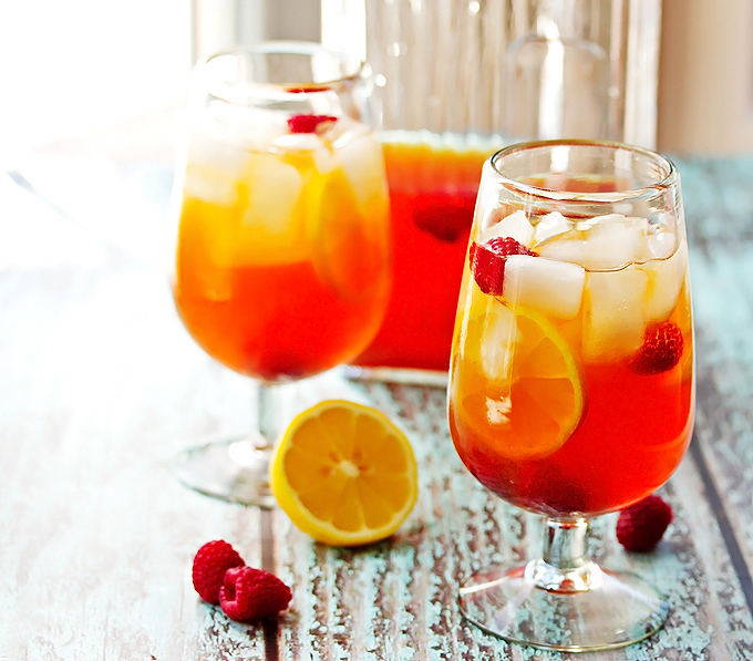 Hard Lemon & Raspberry Black Iced Tea
