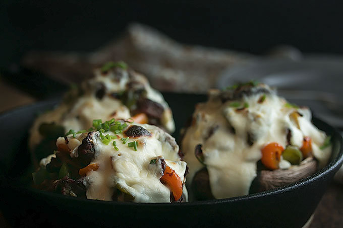 Cheesesteak Stuffed Portobellos (19)