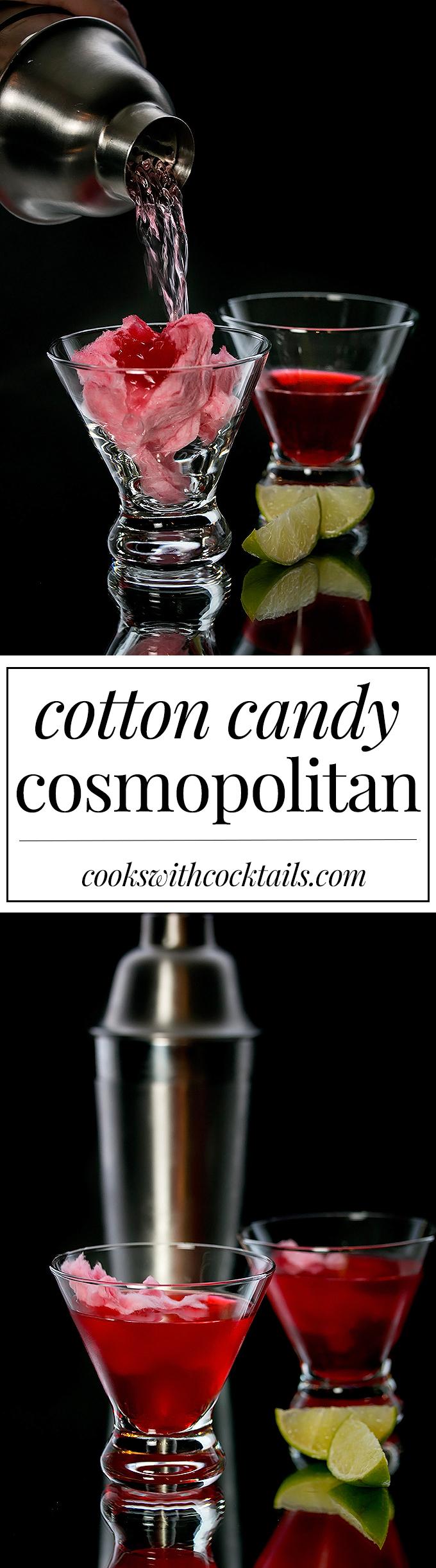 Cotton Candy Cosmopolitan