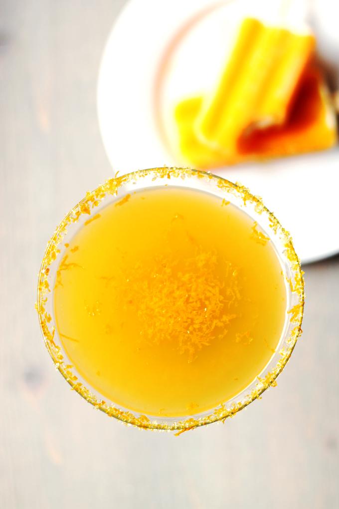 Orange Creamcicle Martini