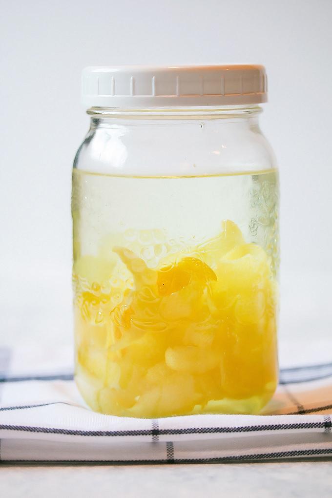 Homemade Limoncello (2)