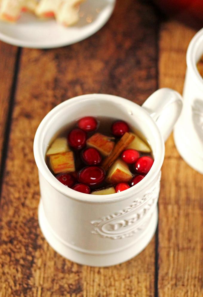 Mulled Apple Cider Sangria