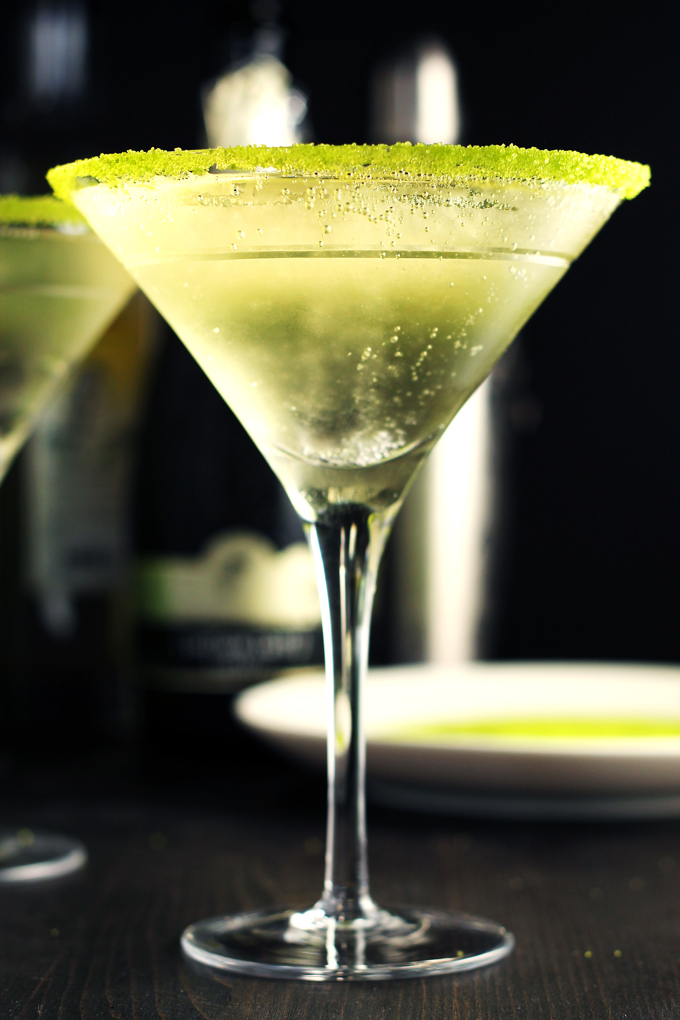 Pear and Elderflower Martini